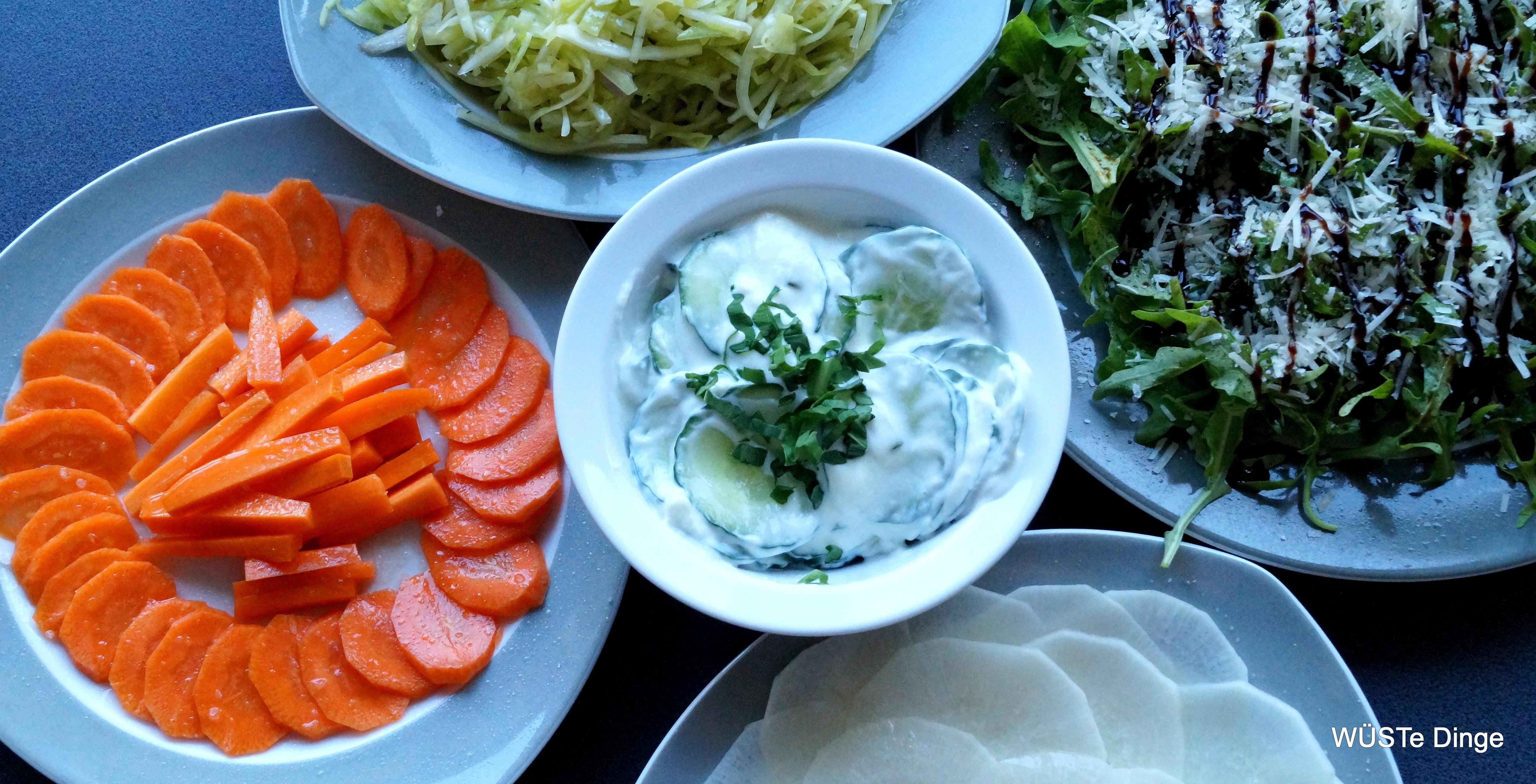 Beilagen für den Grillspaß- Salatedition
