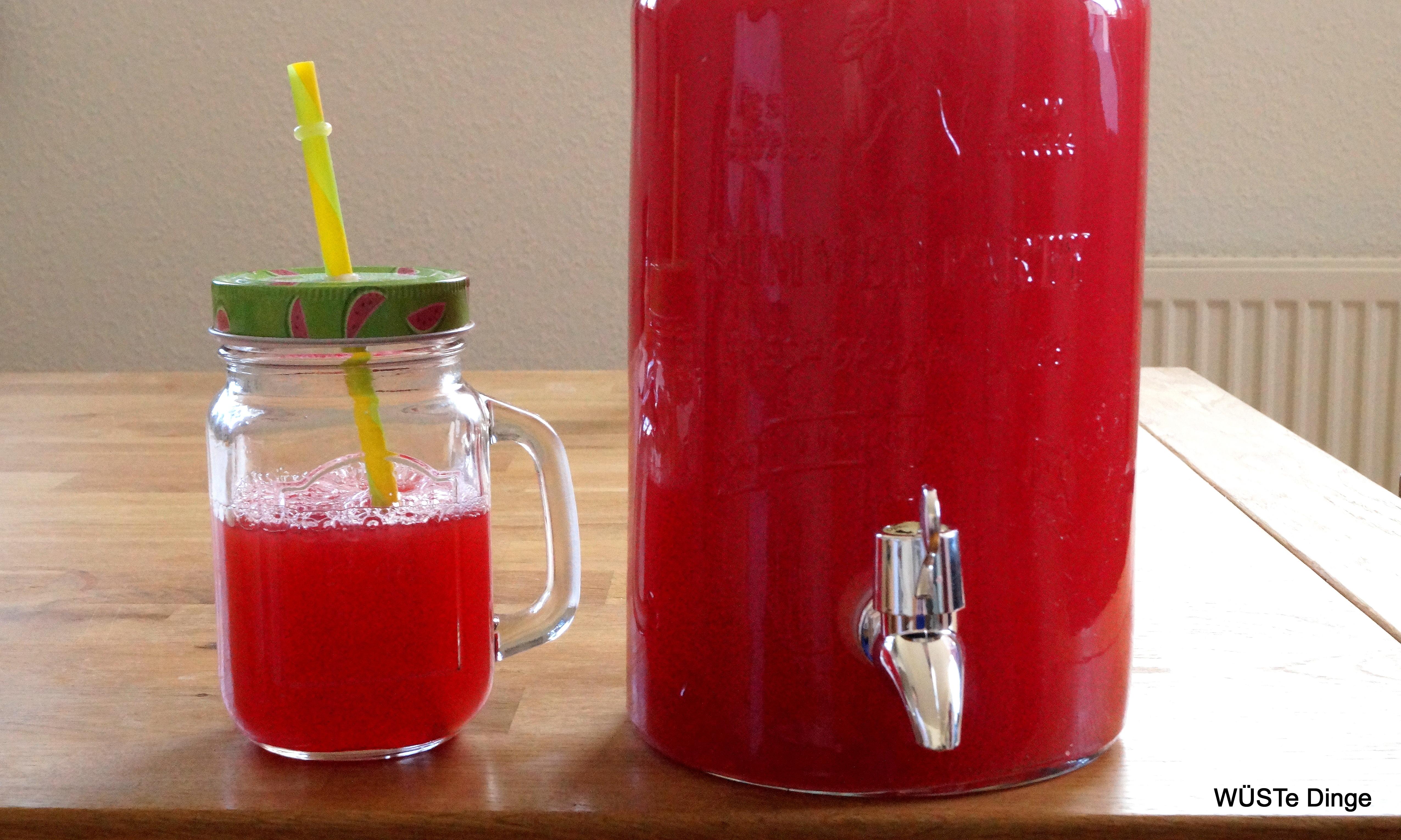 agua fresca Wassermelone