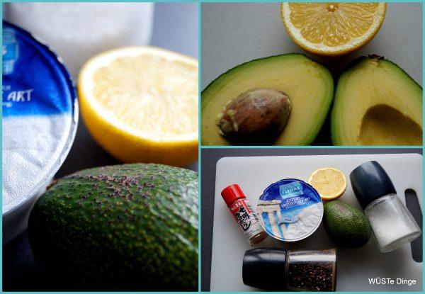 Avocado-Drip: die Zutaten