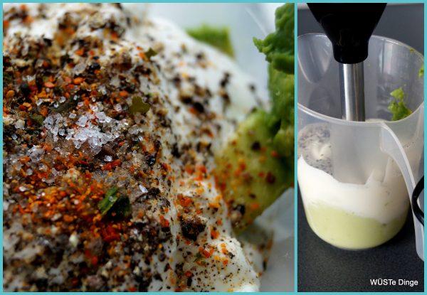 Avocado-Drip: einfach mixen