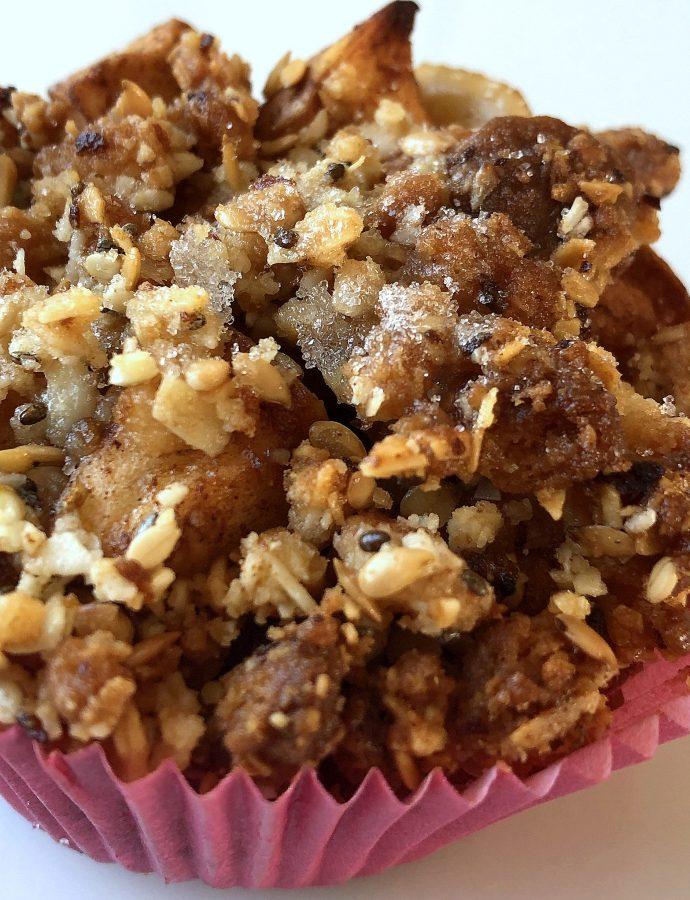Apfel-Krümel-Muffins
