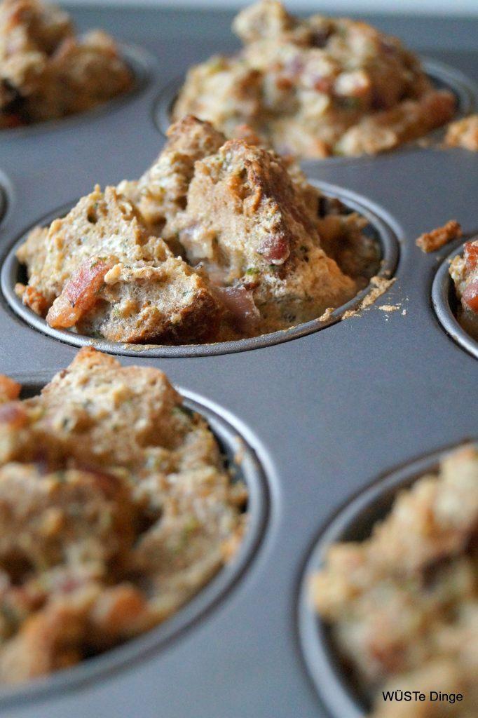 Brotmuffins - raus aus dem Ofen