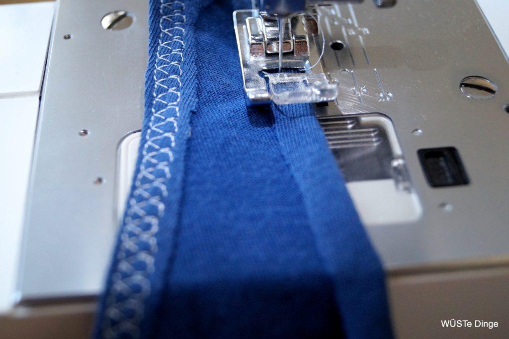 refashion-t-shirt zu Tasche - Träger verstärken