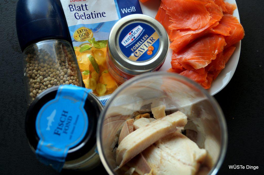 Räucherfischterrine Zutaten