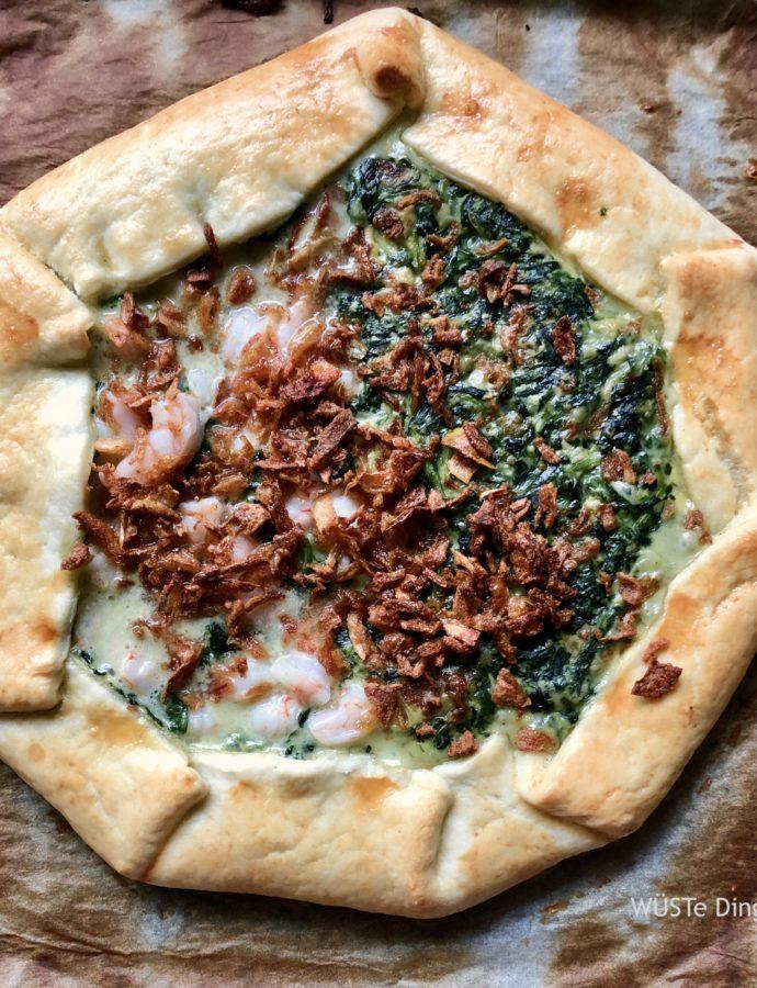 Spinat-Tarte … vegetarisch und nicht