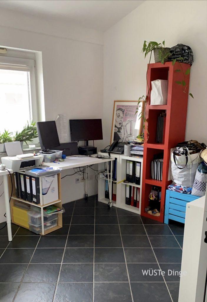 Büro ausmisten