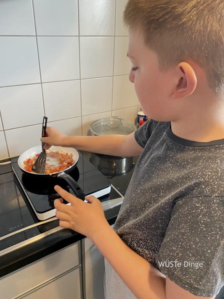 Kochkurs mit Kind