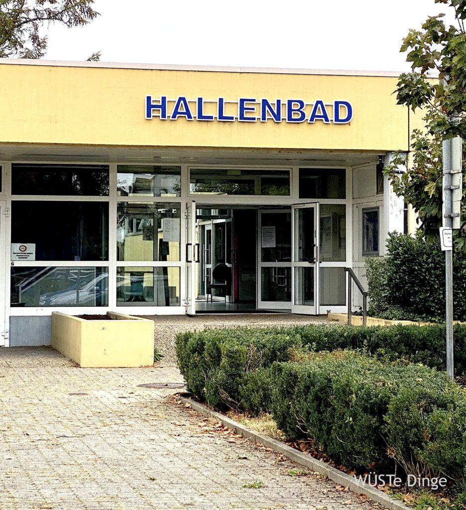 Sport Spaß, support your local Hallenbad